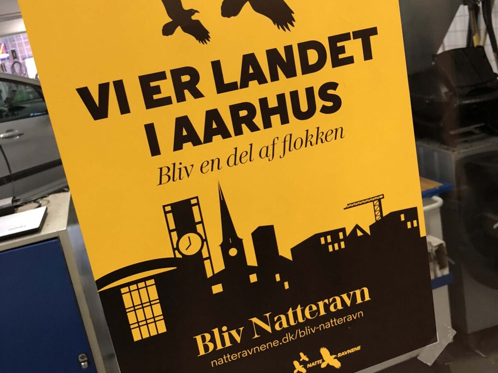Nyt fællesskab af Natteravne i Århus